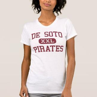 De Soto - piratas - alto - De Soto Wisconsin Tshirts