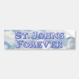 De St Johns básico chanfrado para sempre - Adesivo Para Carro