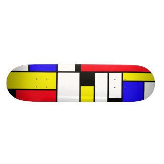 de stijl shape de skate 20,6cm