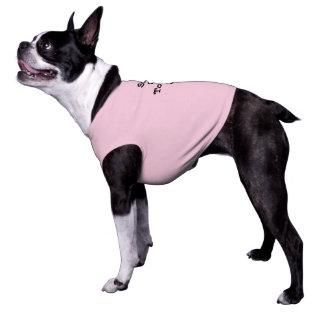 De Sun a língua para fora para fora para cães Camisa Sem Mangas Para Cachorro