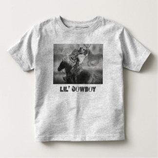 """De """"t-shirt da criança do vaqueiro Lil"""" Camisetas"""