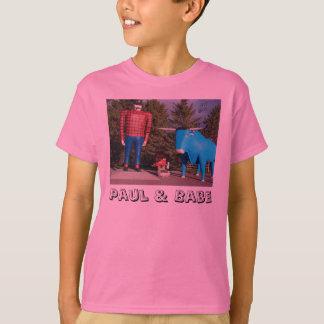 "De ""t-shirt das meninas Paul & de borracho"" Camiseta"