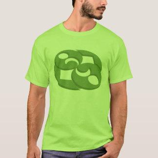 """De """"t-shirt do círculo da colheita da rocha camiseta"""