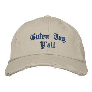 """De """"Tag Guten você"""" chapéu Bonés Bordados"""