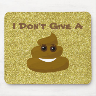 Dê um brilho Emoji Mousepad do tombadilho