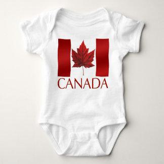 De uma peça só orgânico da lembrança da bandeira body para bebê