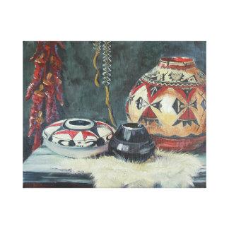 De uma pintura original, óleo na lona impressão em tela