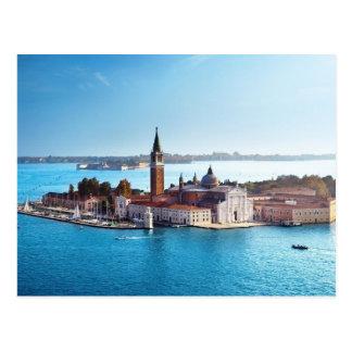 De Veneza com cartão do amor