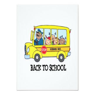 De volta à escola 3 convites