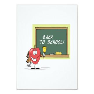 De volta à escola 4 convite personalizado