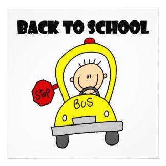 De volta à escola convites