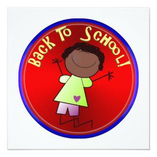 De volta à escola - menina feliz (1) convite
