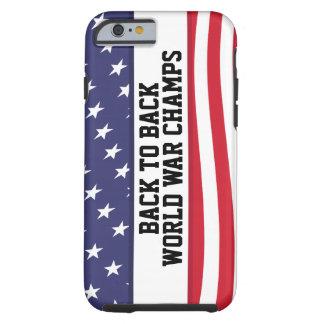 De volta à guerra mundial traseira patrocina o capa tough para iPhone 6