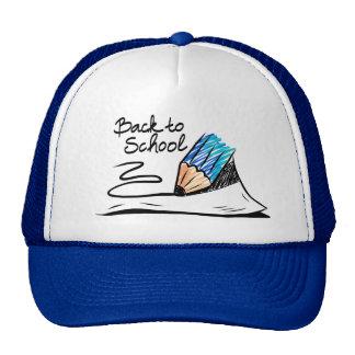 De volta ao chapéu da escola bonés