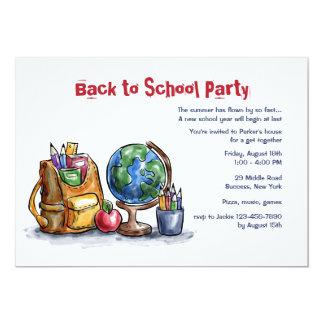 De volta ao convite de festas do dia escolar