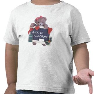 De volta ao design pré-escolar apenas para as camisetas