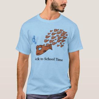 De volta ao tempo da escola camiseta