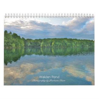 De Walden da lagoa calendário 2018 de parede: com