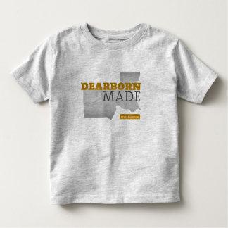 Dearborn fez o T da criança Camiseta