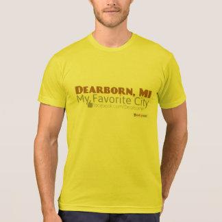 Dearborn, MI - minha cidade favorita Camiseta
