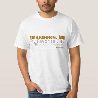 Dearborn, MI - minha cidade favorita Tshirts