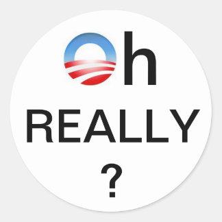 Decalque da janela de Anti-Obama Adesivo