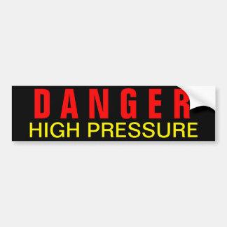 Decalque de alta pressão da segurança do perigo adesivo para carro