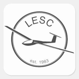 Decalque de LESC Adesivo Quadrado