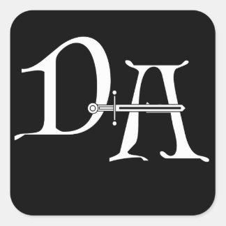 Decalque duvidoso do logotipo de Alliance Adesivo Quadrado