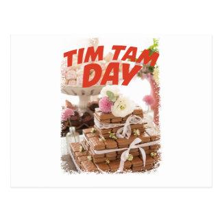 Décimo sexto fevereiro - dia de Tim Tam Cartão Postal