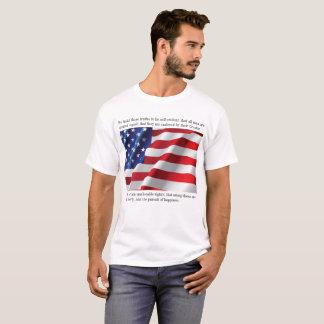Declaração de independência camiseta