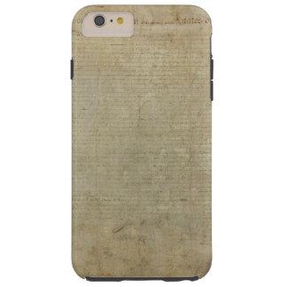 Declaração de independência original capas iPhone 6 plus tough