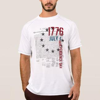 Declaração independência da camisa do 4 de julho