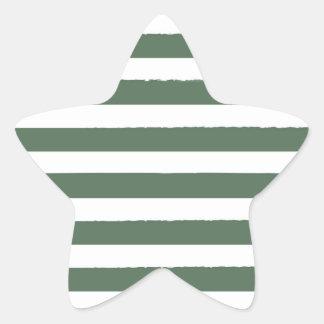 Deco/verde novos da estrela do Natal listrado Adesito Estrela