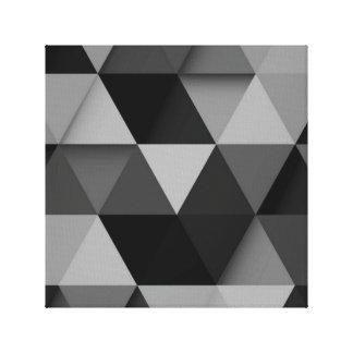 Decoração abstrata preta da parede