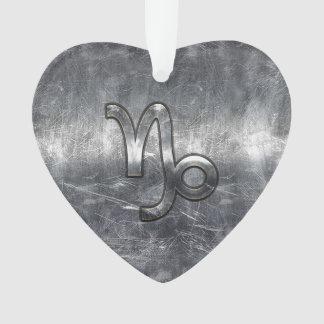 Decoração de aço afligida símbolo do zodíaco do