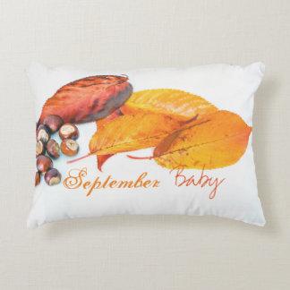 Decoração do berçário do outono do bebê de almofada decorativa