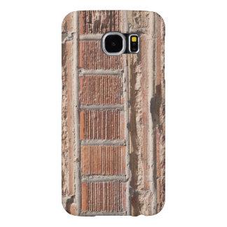 Capa Para Samsung Galaxy S6 Decoração do tijolo em uma capa de telefone da