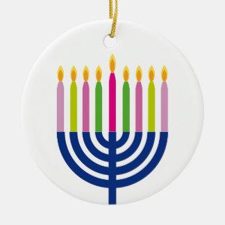 Decoração dos feriados do menorah | do ornamento |