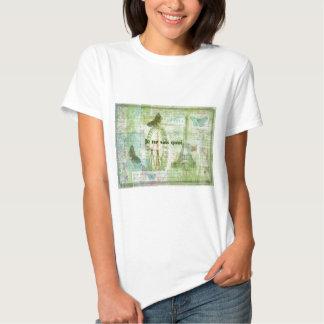 Decoração francesa do tema de Paris da frase do T-shirts