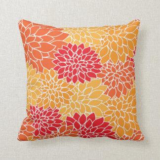 Decoração tropical do verão do desenhista do travesseiro de decoração