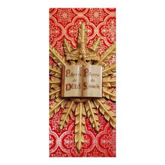 Decorações da igreja Católica 10.16 X 22.86cm Panfleto
