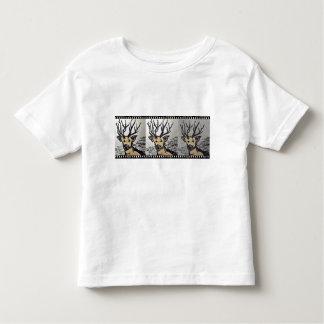Deer Shirt painted motive cotton cervo Camiseta Infantil