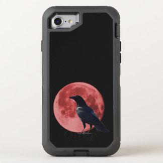Defensor do iPhone do corvo da lua do sangue Capa Para iPhone 8/7 OtterBox Defender