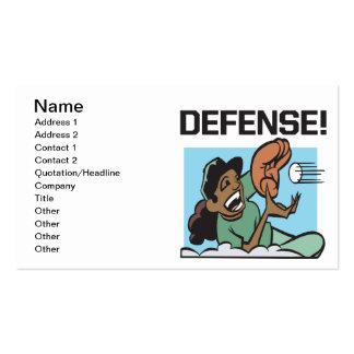 Defesa Cartão De Visita
