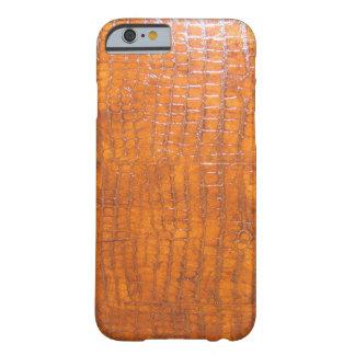 Definição alta da pele do jacaré capa barely there para iPhone 6