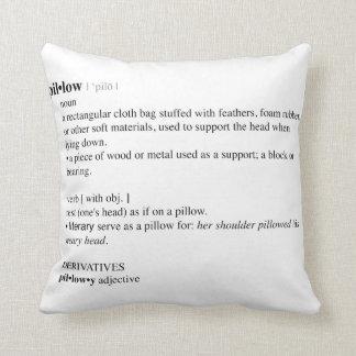 Definição de dicionário do travesseiro