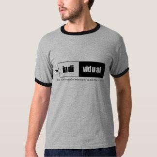 Defyned individual - camisa da definição tshirts