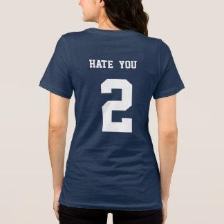 deie-o com design engraçado da camisa do número