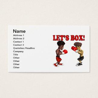 Deixa a caixa 2 cartão de visitas